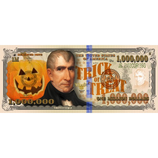 Halloween Million Dollar Bill