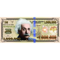 Einstein Million Dollar Bill