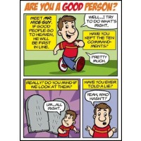 Comic - Are You a Good Person? (mini version)